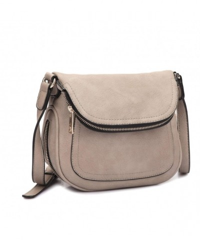 MKY Lightweight Leather Shoulder Crossbody