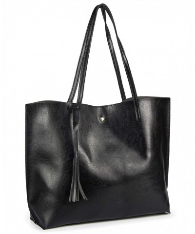 Handbags Satchel Tassels Leather Shoulder