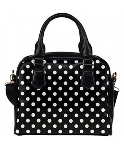 InterestPrint Womens Leather Shoulder Handbag