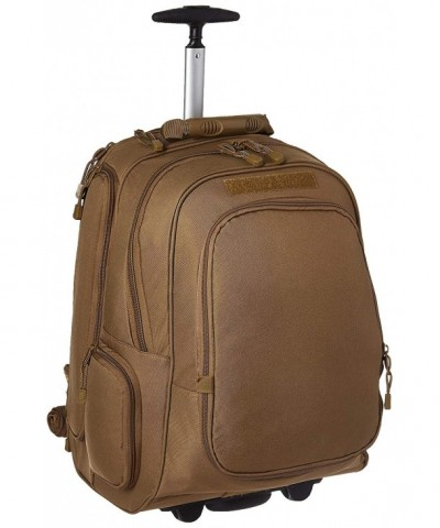 Mercury Wheeled Laptop Backpack Coyote