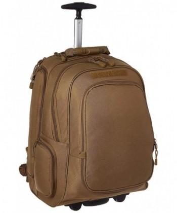 Mercury Wheeled Laptop Backpack Coyote
