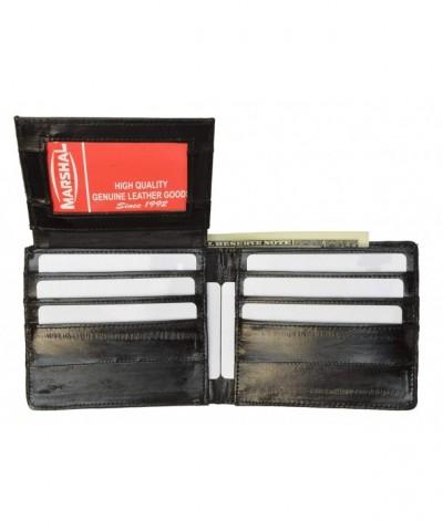 Eelskin Bifold Wallet Id Black