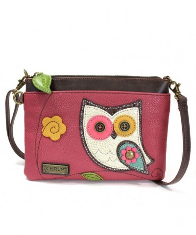 Chala Mini Cross body Messenger Pink Owl