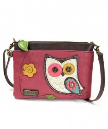 Chala Mini Cross body Messenger Pink Owl