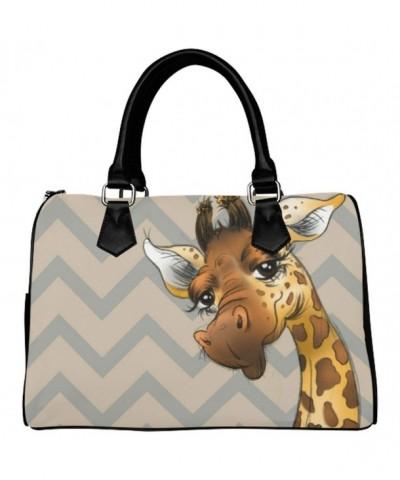 D Story Handbag Giraffe stripes Shoulder