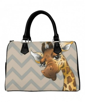 D Story Handbag Giraffe stripes Shoulder