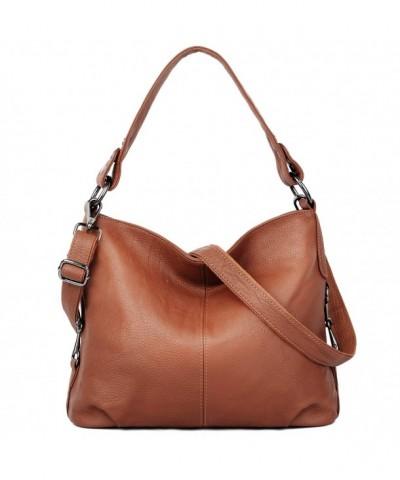 YALUXE Stylish Genuine Leather Shoulder