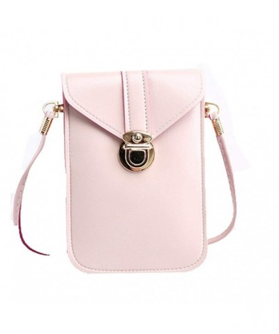 Leather Handbags Crossbody Shoulder Cellphone