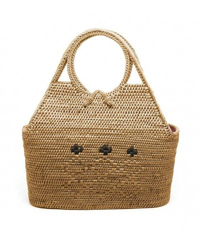 JavaCrafts Rattan Handbags Handwoven Holiday
