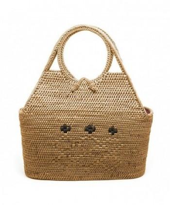 JavaCrafts Rattan Handbags Handwoven Holiday