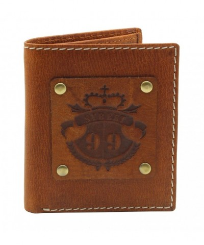STREET Genuine Leather Vintage Billfold