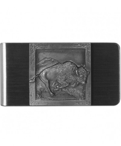Siskiyou Large Money Clip Buffalo