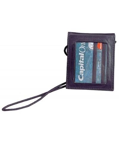 Winn Leather Security Wallet Black