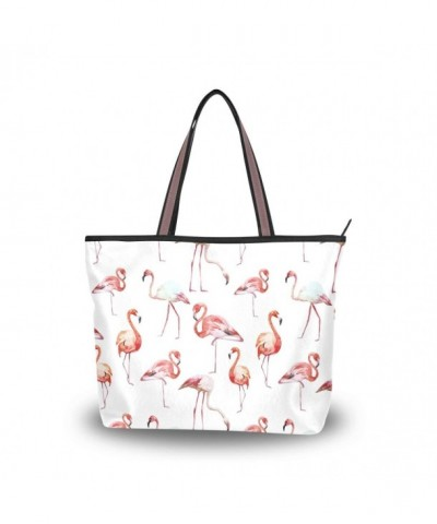 JSTEL Handle Shoulder Flamingo Handbag
