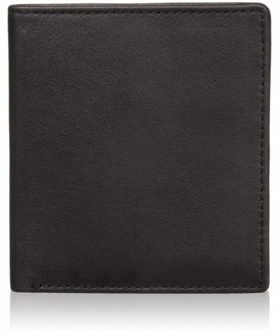 Royce Leather Bifold Wallet Black