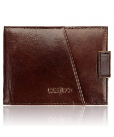 Blocking Genuine Leather Wallets CEFIRO