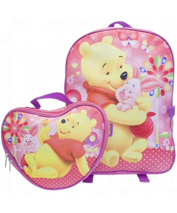 Winnie Pooh Hugging Backpack Detachable