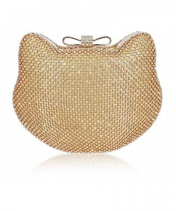 Mossmon Crystal Clutch Rhinestone Evening