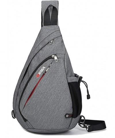 Canvas Shoulder Backpack Crossbody Daypack