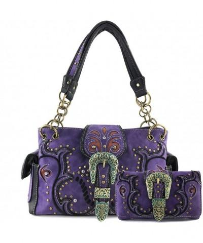 Justin West Western Conceal Handbag