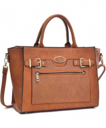 Dasein Belted Medium Tote Bag