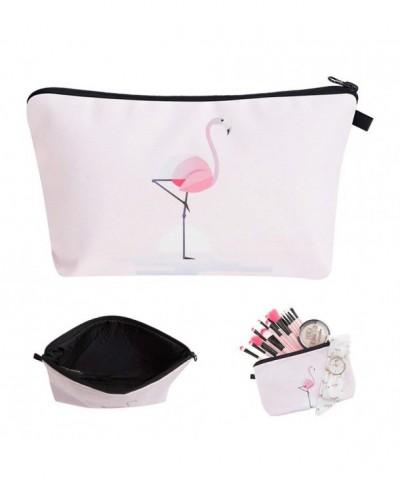 Waterproof Electronics Accessories Organizer Pink Flamingo