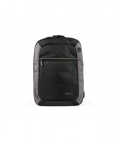Max Cases Notebook Backpack Compartment