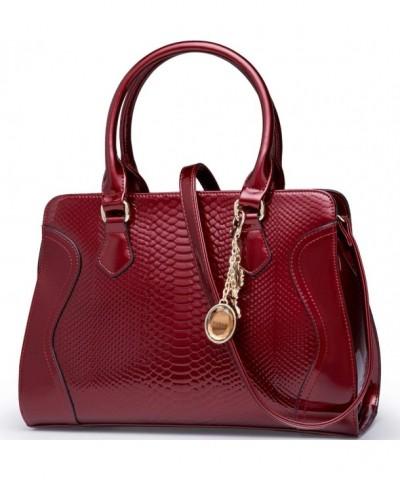 FOXER Leather Satchel Handbag Shoulder