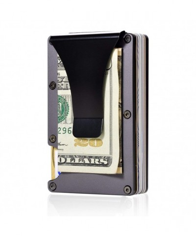 Aluminum Wallet Pocket Minimalist Blocking