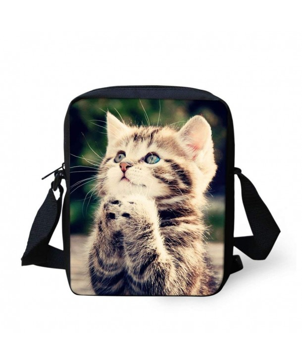 HUGS IDEA Crossbody Shoulder Schoolbag