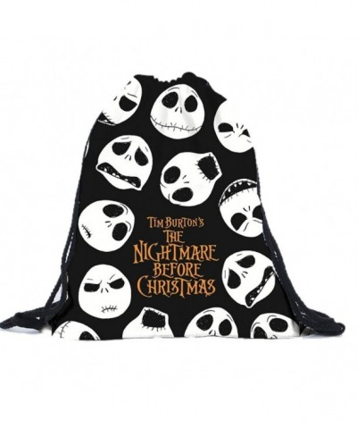 Clearance Halloween Drawstring Backpacks Shoulder