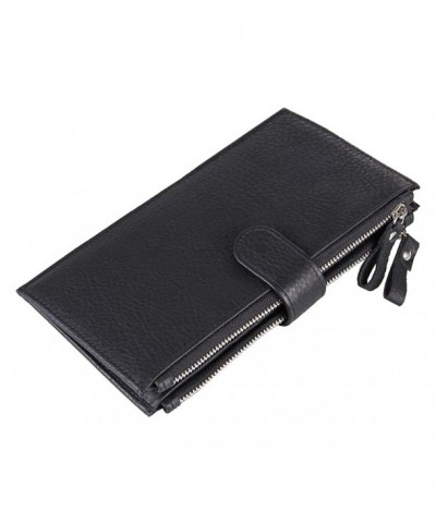 Herebuy Designer Leather Zipper Wallet