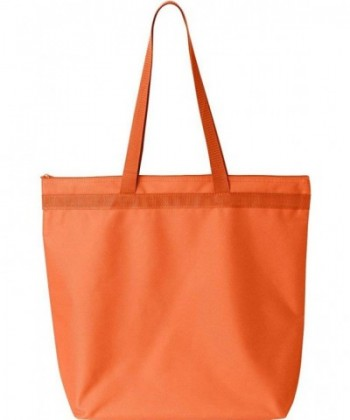 Liberty Bags Recycled Zipper Orange