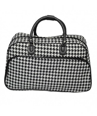 World Traveler 21 Inch Shoulder Houndstooth