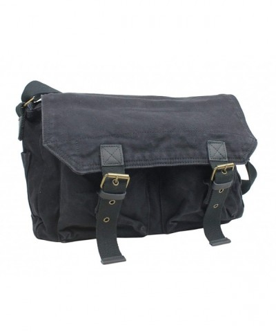 Vagabond Traveler Cotton Messenger C51 BLK