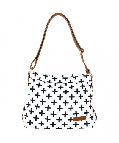 Crosses Crossbody White Elm Leather