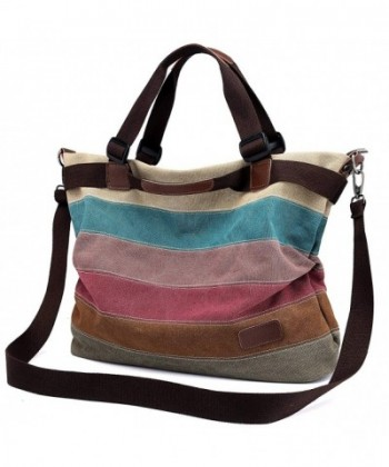 Unives Shoulder Top handle Multi colored 17 5x13 5x7Inch