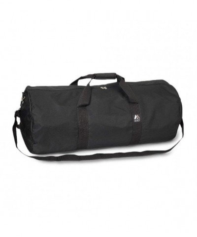 Everest Round Travel Duffel Black