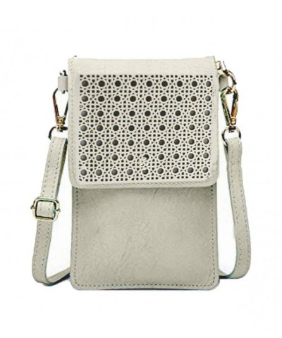 Donalworld Small Phone Leather Crossbody