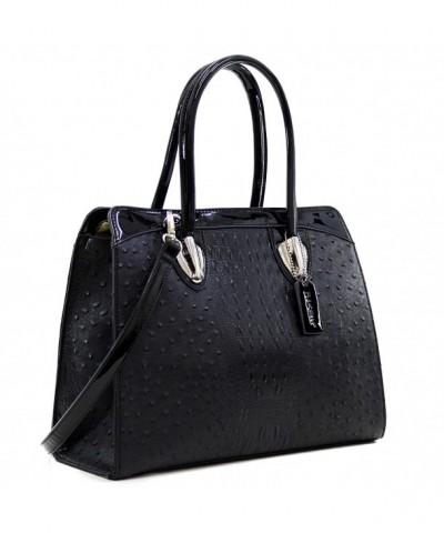Dasein Structured Satchel Handbags Shoulder