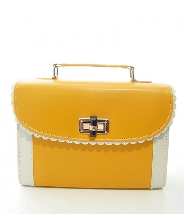 Womens Handle Messenger Handbag Shoulder