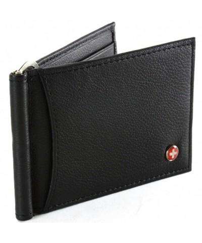 Alpine Pocket Wallet Spring Leather