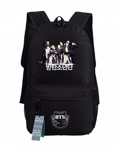 JUSTGOGO Korean Backpack Daypack College