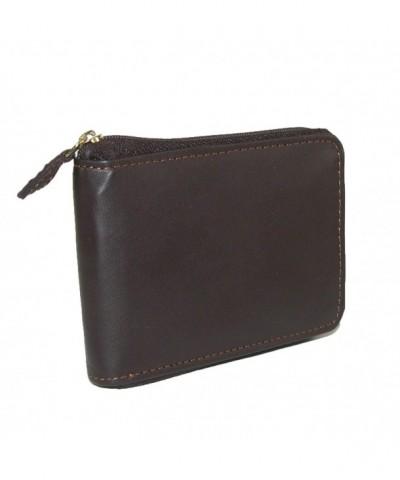 Leather Regatta Zip Around Convertible Billfold