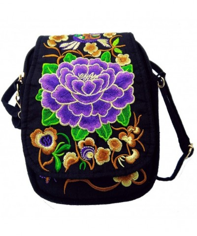 Tofantifer Small Purse Crossbody Embroidered