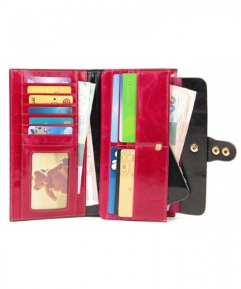 f6b12bf32896 SUIMIUS Womens Genuine Leather Capacity; Discount Women Wallets Clearance  Sale ...