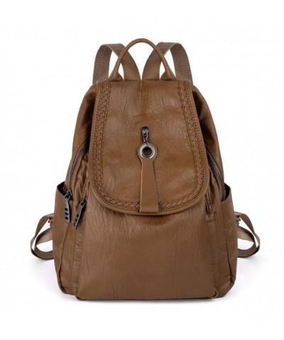 UTO Backpack Flapover Rucksack Shoulder