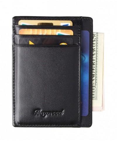 Blocking Pocket Wallet Leather Credit