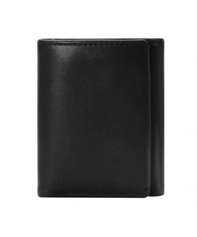 Co TRIFOLD Mens Wallet Trifold Wallet Divided Compartment