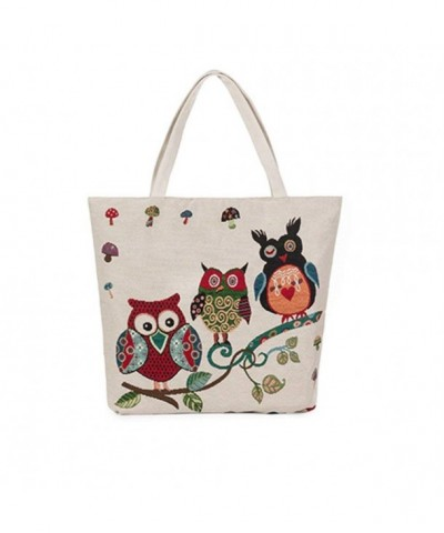 Womens Canvas Shoulder Handbag Multi style